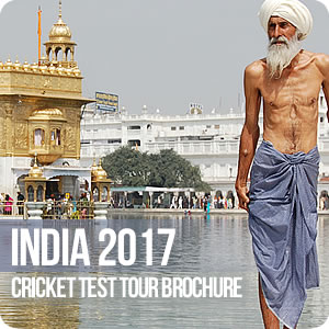 View our India 2017 Cricket Brochure