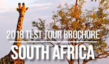 View our 2018 South Africa Brochure