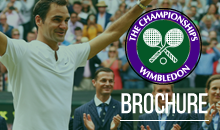 View our 2018 Wimbledon Brochure