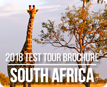 View our 2018 South Africa Test Tour Brochure