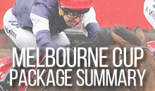 View our Melbourne Cup 2016 Package Summary